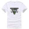 GTA V Printed Cotton Short Sleeve T-Shirt - Pro Game Stop