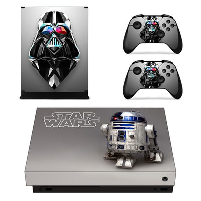 XBox One X Star Wars Console & Controller Decal Sticker - Pro Game Stop