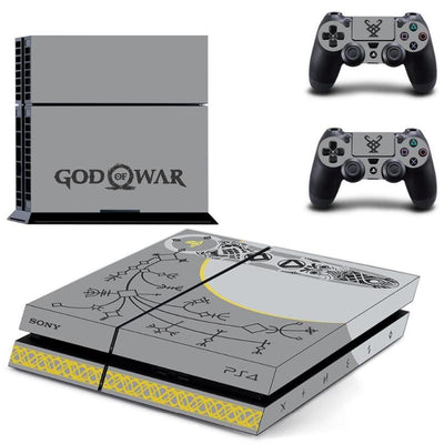 God of War PS4 Console & Controller Skin Decal - Pro Game Stop