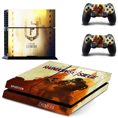 PS4 Rainbow Six Console & Controller Sticker Decal - Pro Game Stop