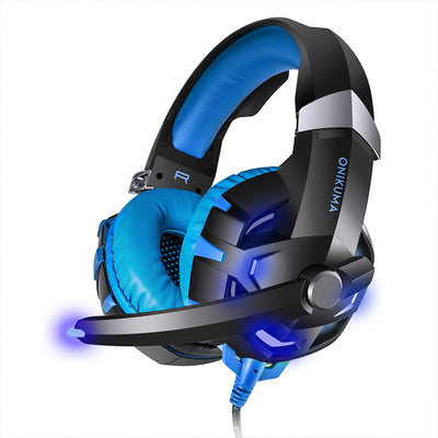 Noise Cancelling LED Gaming Headset with Mic - Pro Game Stop