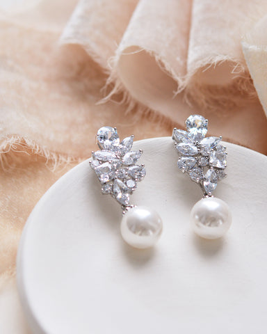 Ella CZ Earrings