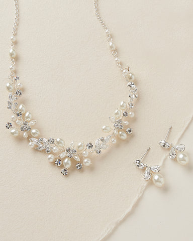Camilla Floral Jewelry Set