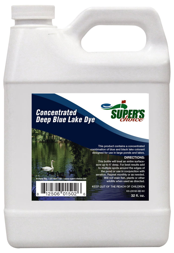 Super's Choice Concentrated Deep Blue Lake Dye Quart