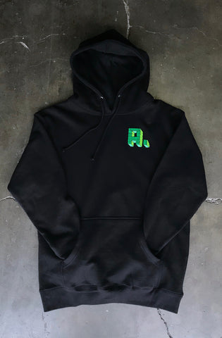 Kuya George X Adapt :: Only the Strong (Men's Black Hoody)