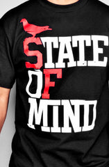 State of Mind (Men's Black/Red Tee)