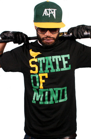 State of Mind (Men's Black/Green Tee)