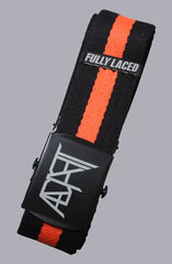 Fully Laced x Adapt :: Black and Orange (Scout Belt)