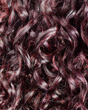 Gemini Naturals Get Hued Color Gel in shade Cranberry on brown hair