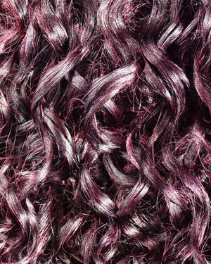 Gemini Naturals Get Hued color gel in shade Pink Berry on Brown Hair