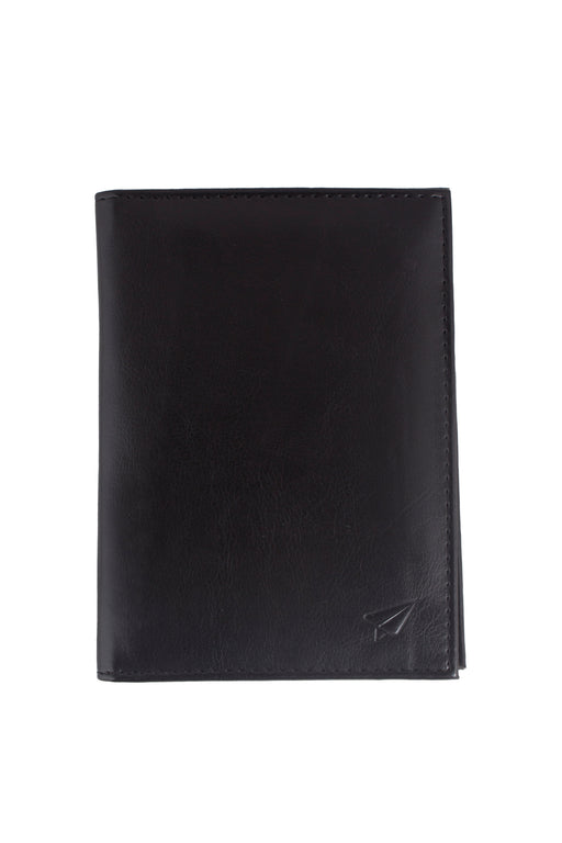 RFID COUPLE PASSPORT WALLET LEATHER