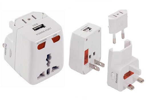 WORLD TRAVEL ADAPTERS SINGLE USB PORT