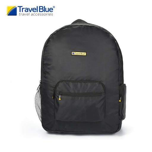 TRAVEL BLUE FOLDABLE BACKPACK (LIGHTWEIGHT)