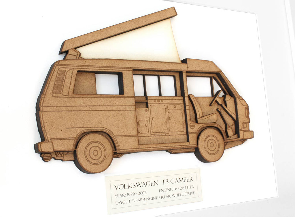 VW T3 camper van interior decor