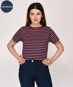 Playfully Admired Striped Top