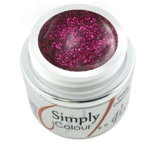 Simply Glitter Gel- Cherry Glitz