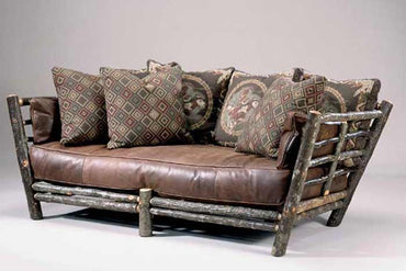 Rustic Lodge Sofa