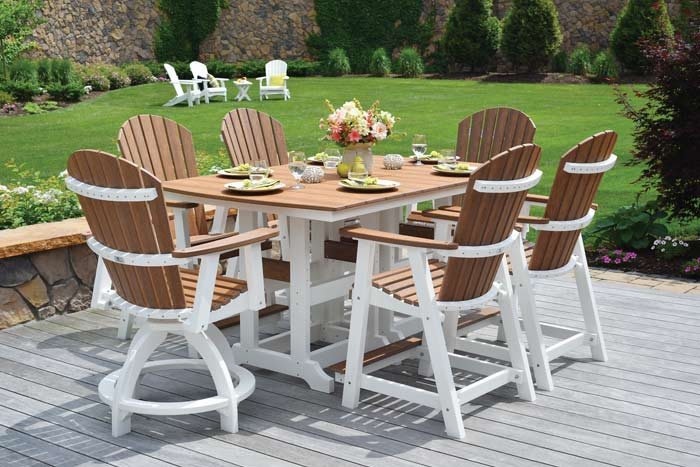 Classic Poly Outdoor Table and Chairs