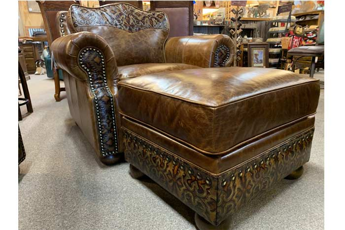 Western Leather Chair