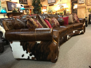 Western Leather Sofa