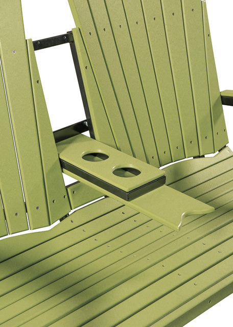 Poly Two Seat Outdoor Glider Bench