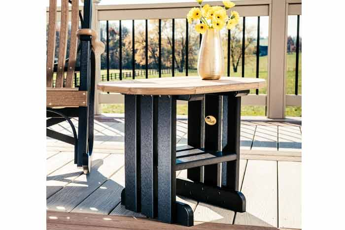 Outdoor Poly Side Table