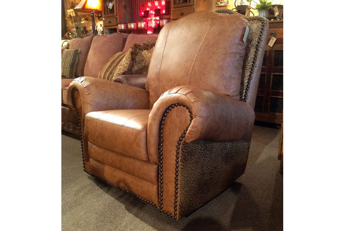 El Patron Tooled Leather Recliner
