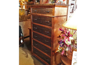 Glen Stone 6 Drawer Tall Chest of Drawers