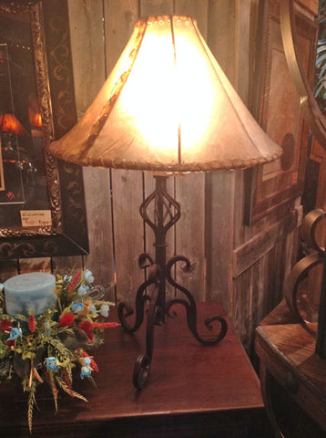 Forged Iron Table Lamp 3