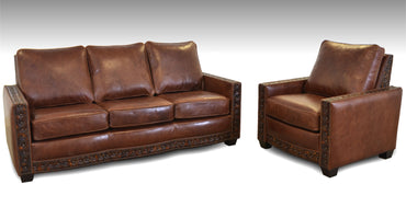Junction Leather Sofa