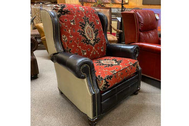 Birmingham Leather/Fabric Recliner