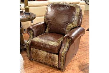 Ronelo Dark Gator Push Back Recliner