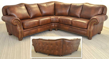 Russel Curved Sectional