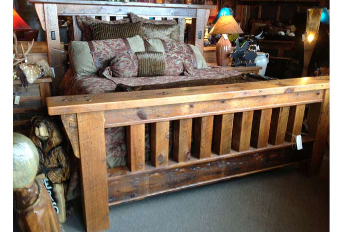 Royal Timber Bed