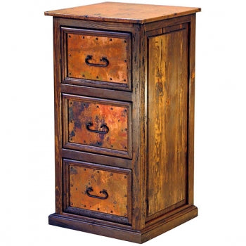 Copper Filing Cabinet