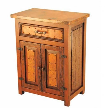 Copper-Top Deer Valley Nightstand