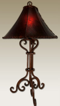 Forged Iron Table Lamp 1