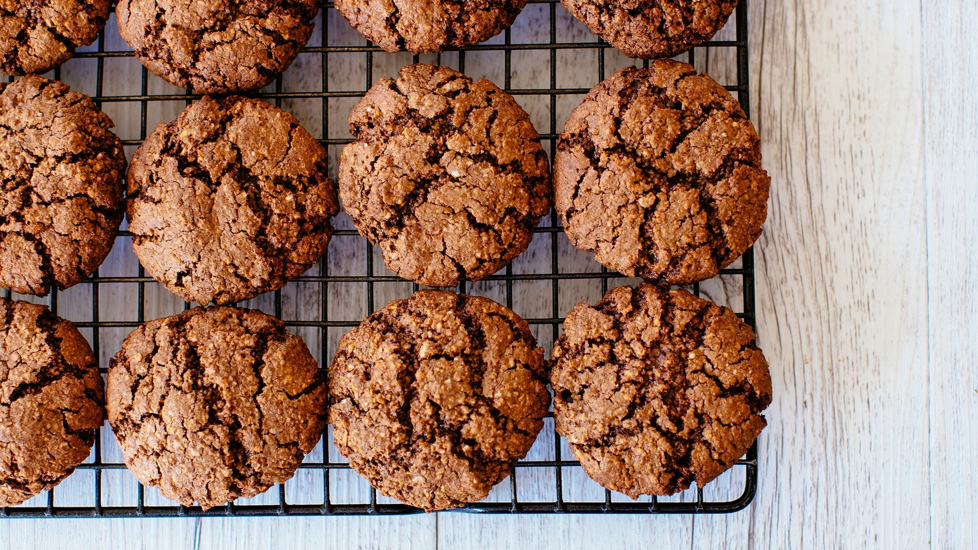 Chocolate Protein Cookies