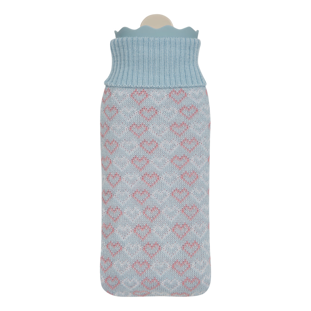 Cozy Blue Hot Water Bottle