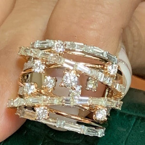 Beautiful Two Tone Lady's Ring