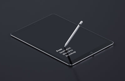 iPad Pro Mockup with Amazing Details and Two Views