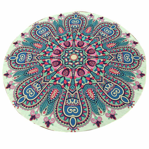 Women   Round  Chiffon Tapestry Beach Throw Towel Yoga Mat   for women#20
