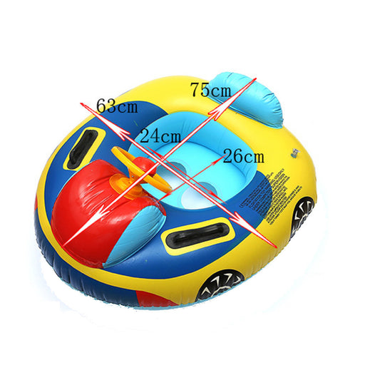 Summer Giant Inflatable 1pc Baby Seat Swimming Swim Pool Aid Trainer Beach Float Swim Ring Float Raft #EW