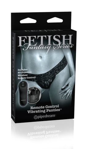 Fetish Fantasy Limited Edition Remote Control Vib. Pan