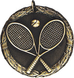 "2"" XR Series tennis Award Medals on 7/8"" Neck Ribbons"