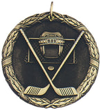"2"" XR Series ice hockey Award Medals on 7/8"" Neck Ribbons"