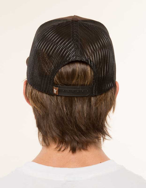 Mr. California - Men's Trucker Hat - The Billed Duck - Back View