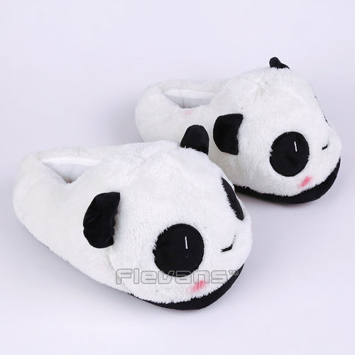 Lovely Panda - Plush Slippers