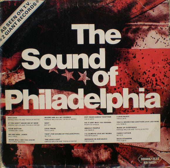 Various Artists - The Sound Of Philadelphia