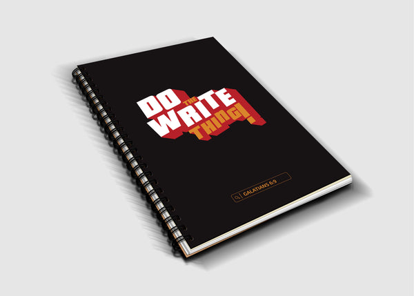 Do The Write Thing Notebook